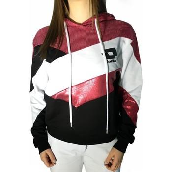 Kleidung Damen Sweatshirts Lotto LTD446 Weiss/Fuchsia