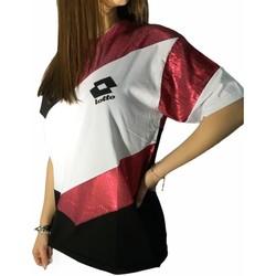 Kleidung Damen T-Shirts Lotto LTD445 Weiss/Fuchsia