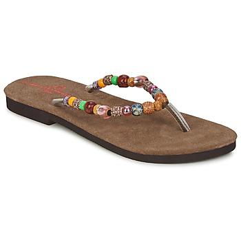 Schuhe Damen Zehensandalen Banana Moon PERLA Multicolor