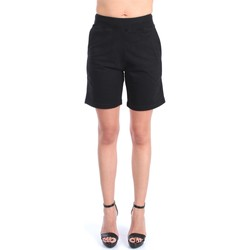 Kleidung Damen Shorts / Bermudas Save The Duck PARKER Bermuda Damen Schwarz Schwarz