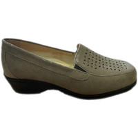 Schuhe Damen Slipper Calzaturificio Loren LOK4013ta tortora