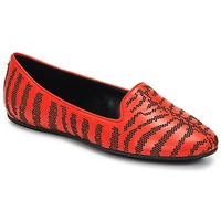 Schuhe Damen Slipper Roberto Cavalli TPS648 Orange