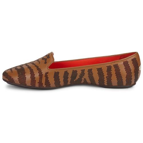 Roberto Cavalli TPS648 Braun  Schuhe Slipper Damen 170
