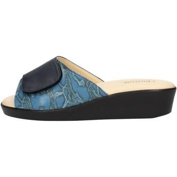 Schuhe Damen Pantoffel Clia Walk COMFORT310 Blau