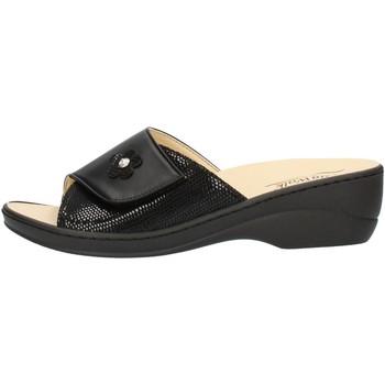 Schuhe Damen Pantoffel Clia Walk ESTRAIBILE496 Schwarz