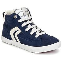 Schuhe Jungen Sneaker High Geox KIWI BOY Marine