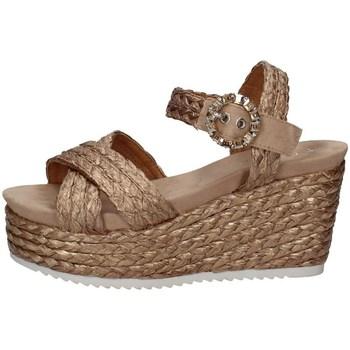 Schuhe Damen Sandalen / Sandaletten Cristin ROSALIA 12 KUPFER