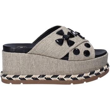 Schuhe Damen Pantoffel Exé Shoes G470017144581 Grau