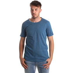 Kleidung Herren T-Shirts & Poloshirts Gaudi 911BU64027 Blau