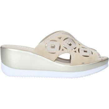 Schuhe Damen Sandalen / Sandaletten Valleverde 32150 Beige