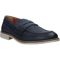 Schuhe Herren Slipper Melluso XU31063 Blau