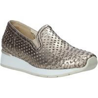 Schuhe Damen Slip on Melluso HR20006 Gold