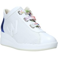 Schuhe Damen Sneaker Low Melluso HR20220 Weiß