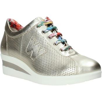 Schuhe Damen Sneaker Low Melluso HR20110 Gold