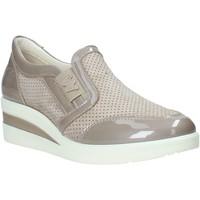 Schuhe Damen Slip on Melluso R2180X Beige