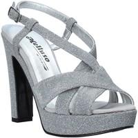 Schuhe Damen Sandalen / Sandaletten Melluso HJ440 Silber