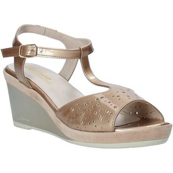 Schuhe Damen Sandalen / Sandaletten Melluso HR70520 Gold