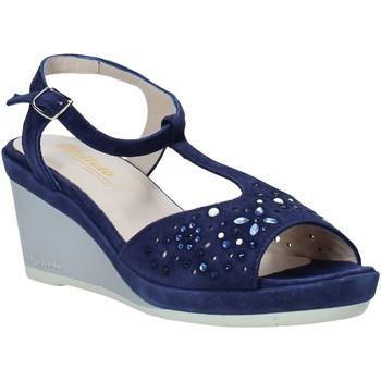 Schuhe Damen Sandalen / Sandaletten Melluso HR70511 Blau