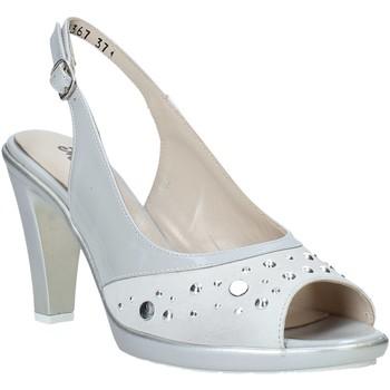 Schuhe Damen Sandalen / Sandaletten Melluso HR50131 Grau