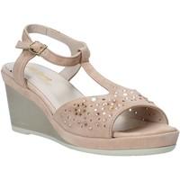 Schuhe Damen Sandalen / Sandaletten Melluso HR70511 Rosa