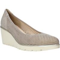Schuhe Damen Slipper Melluso HR2510 Beige