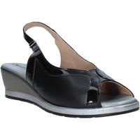 Schuhe Damen Sandalen / Sandaletten Melluso 037110X Schwarz