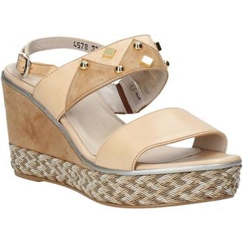 Schuhe Damen Sandalen / Sandaletten Melluso HR70814 Rosa