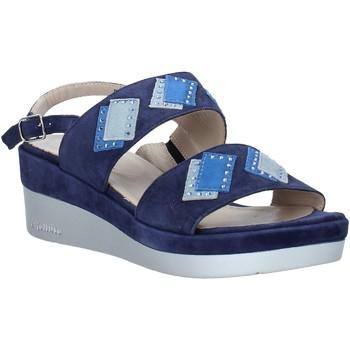 Schuhe Damen Sandalen / Sandaletten Melluso HR70717 Blau