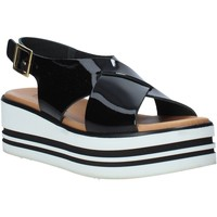 Schuhe Damen Sandalen / Sandaletten Melluso 09603X Schwarz
