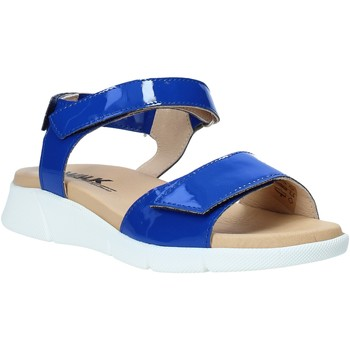 Schuhe Damen Sandalen / Sandaletten Melluso Q60220X Blau