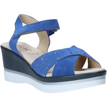 Schuhe Damen Sandalen / Sandaletten Melluso .037064F Blau