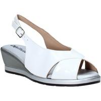 Schuhe Damen Sandalen / Sandaletten Melluso 037084X Weiß