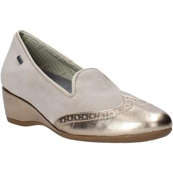 Schuhe Damen Slipper Melluso H08121 Beige