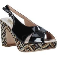 Schuhe Damen Sandalen / Sandaletten Melluso H037080 Schwarz