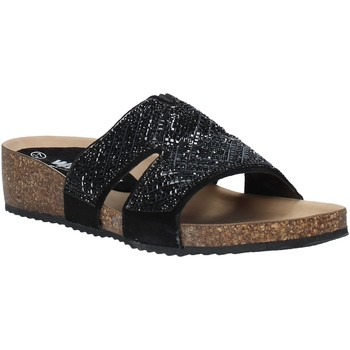 Schuhe Damen Pantoffel Melluso 03463X Schwarz