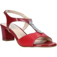Schuhe Damen Sandalen / Sandaletten Melluso K95352 Rot