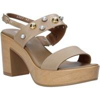 Schuhe Damen Sandalen / Sandaletten Melluso HR80107 Beige