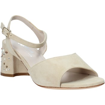 Schuhe Damen Sandalen / Sandaletten Melluso HS531 Beige