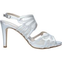 Schuhe Damen Sandalen / Sandaletten Melluso HS845 Silber