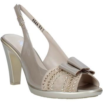 Schuhe Damen Sandalen / Sandaletten Melluso HR50124 Grau