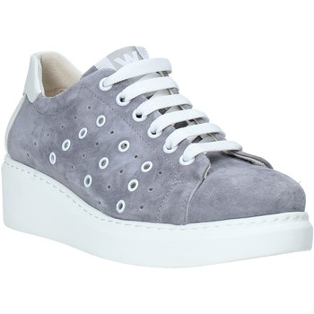 Schuhe Damen Sneaker Low Melluso HR20715 Grau