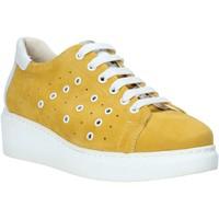 Schuhe Damen Sneaker Low Melluso HR20715 Gelb