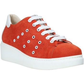 Schuhe Damen Sneaker Low Melluso HR20715 Rot