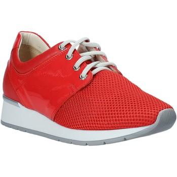Schuhe Damen Sneaker Low Melluso HR20012 Rot