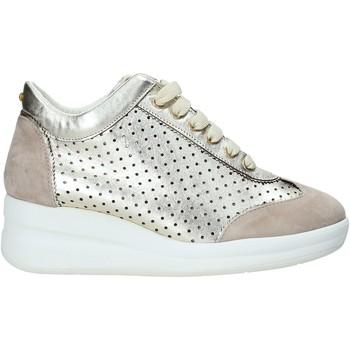 Schuhe Damen Sneaker Low Melluso HR20221 Gold