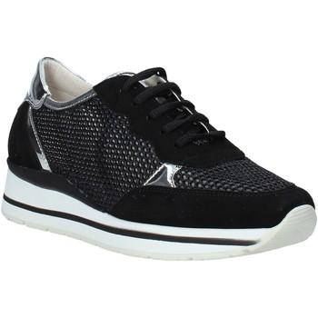 Schuhe Damen Sneaker Low Melluso HR20033 Schwarz