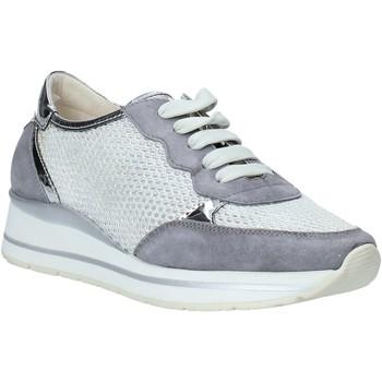 Schuhe Damen Sneaker Low Melluso HR20033 Grau