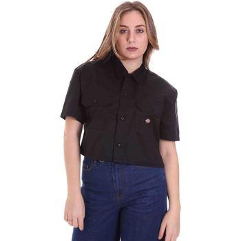 Kleidung Damen Hemden Dickies DK0A4XE1BLK1 Schwarz