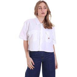 Kleidung Damen Hemden Dickies DK0A4XE1WHX1 Weiß
