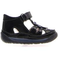 Schuhe Kinder Sandalen / Sandaletten Falcotto 1500812 04 Schwarz